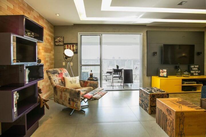 Modelos de poltronas para sala de estar Projeto de Arq Design PA