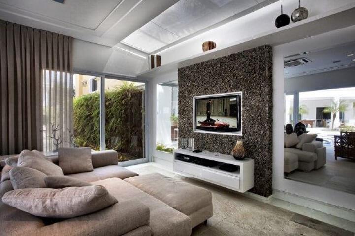 Modelos de sofá de canto Projeto de Bianka Mugnatto