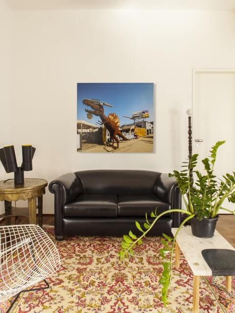 Modelos de sofá tradicional preto Projeto de Mauricio Arruda