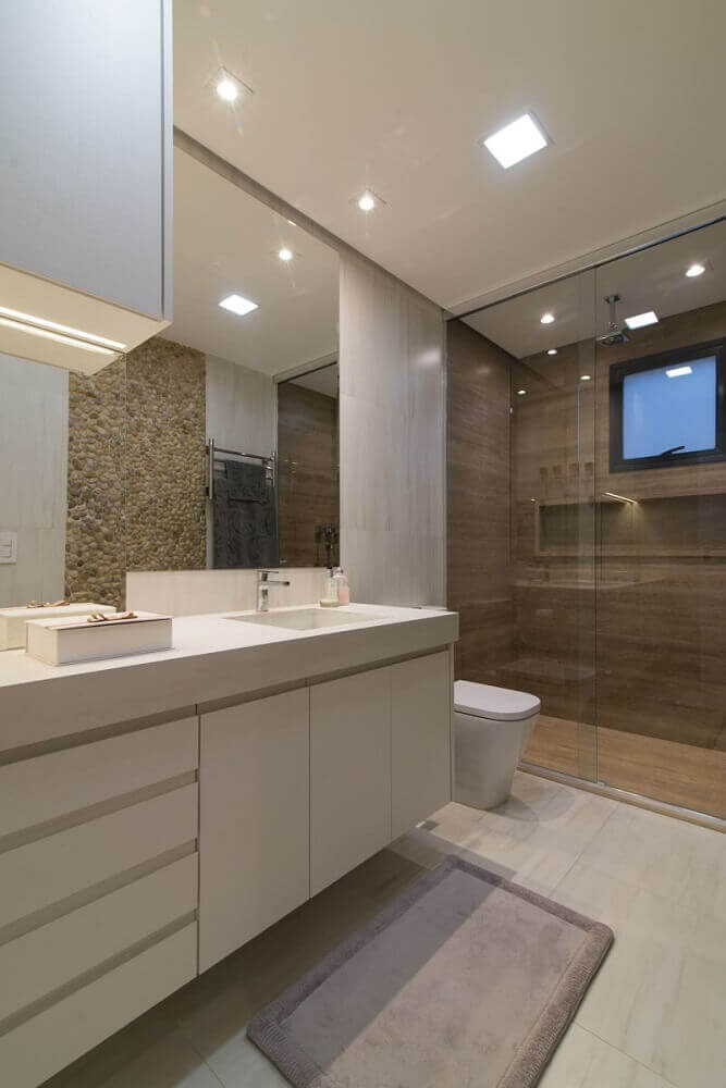 Nicho para banheiro em porcelanato