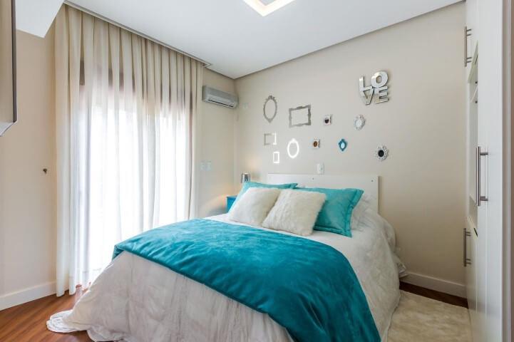 Roupas de cama azul Tiffany Projeto de By Arquitetura