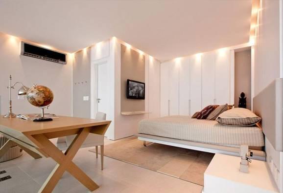armário embutido para quarto com sanca