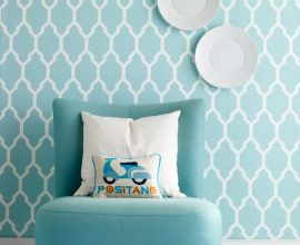azul tiffany - poltrona infantil azul - Skonahem