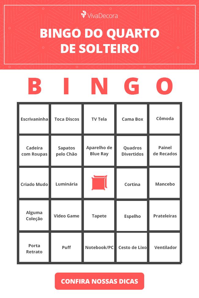 Infográfico - Bingo Quarto de Solteiro