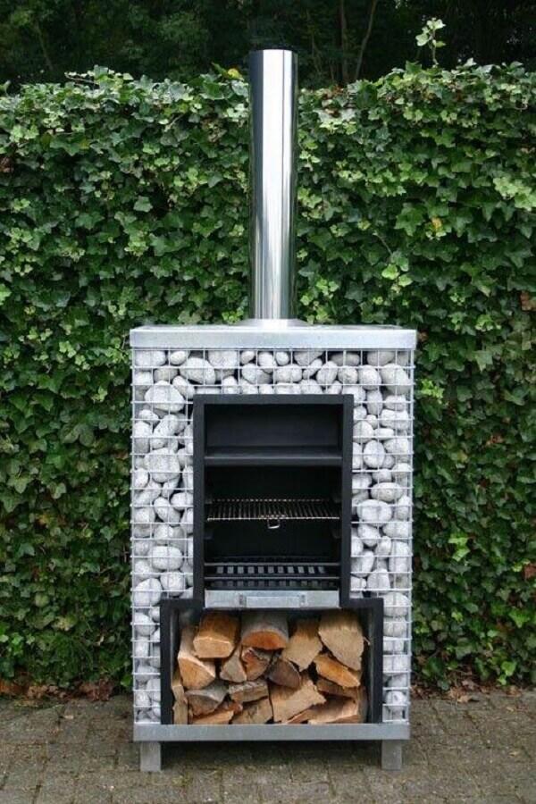 churrasqueira com design moderno