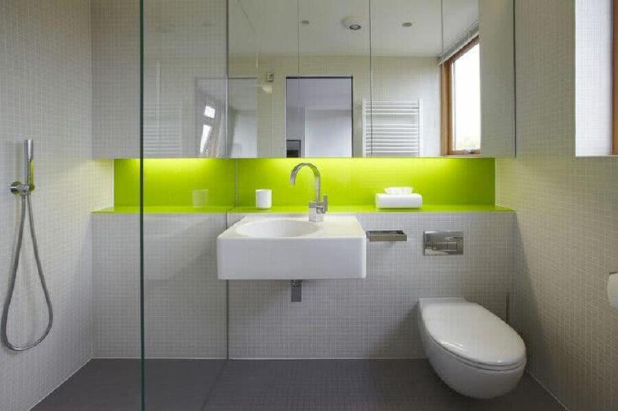 cores para modelos de banheiro