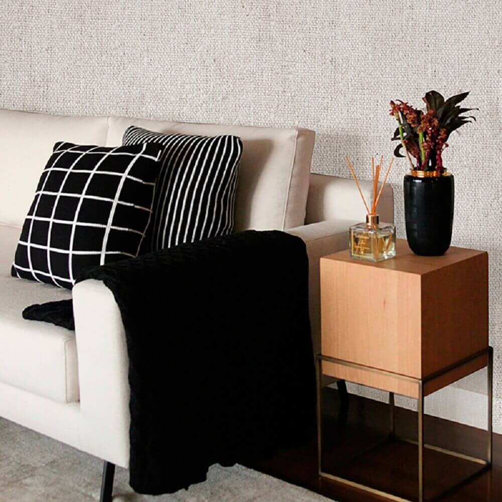decoração de casa com mantas