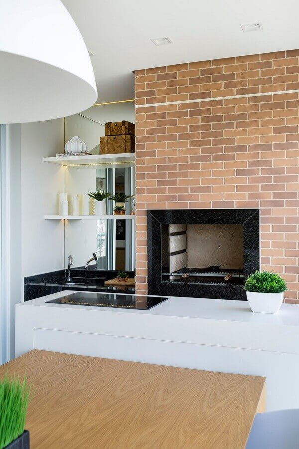 Modelo de churrasqueira para varanda.