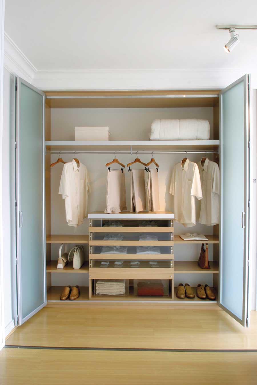 guarda roupa embutido planejado