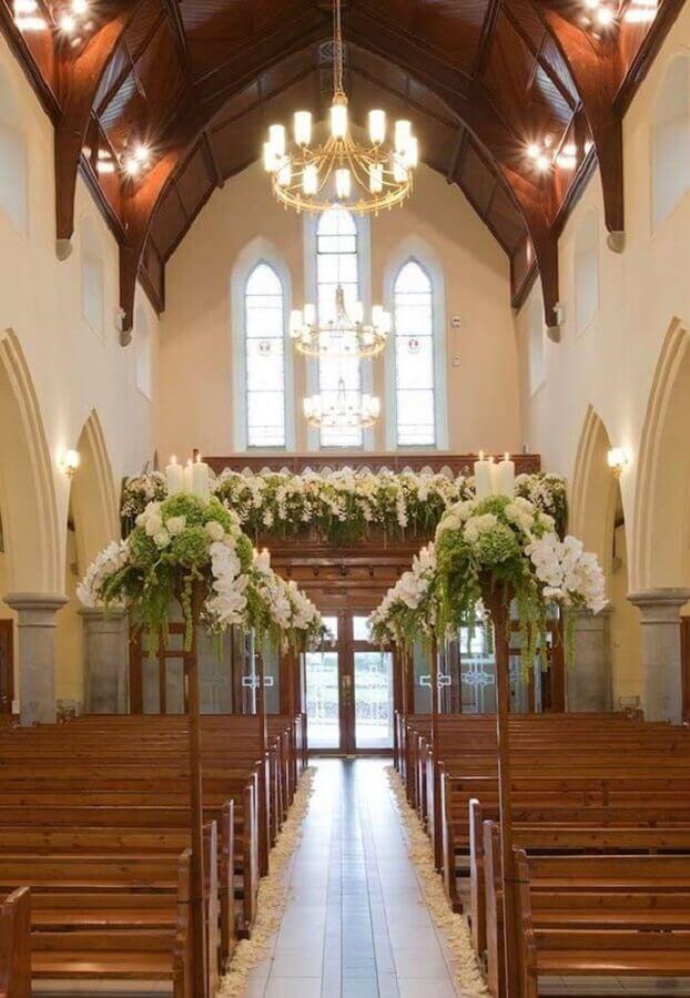 mezanino decorado para casamento
