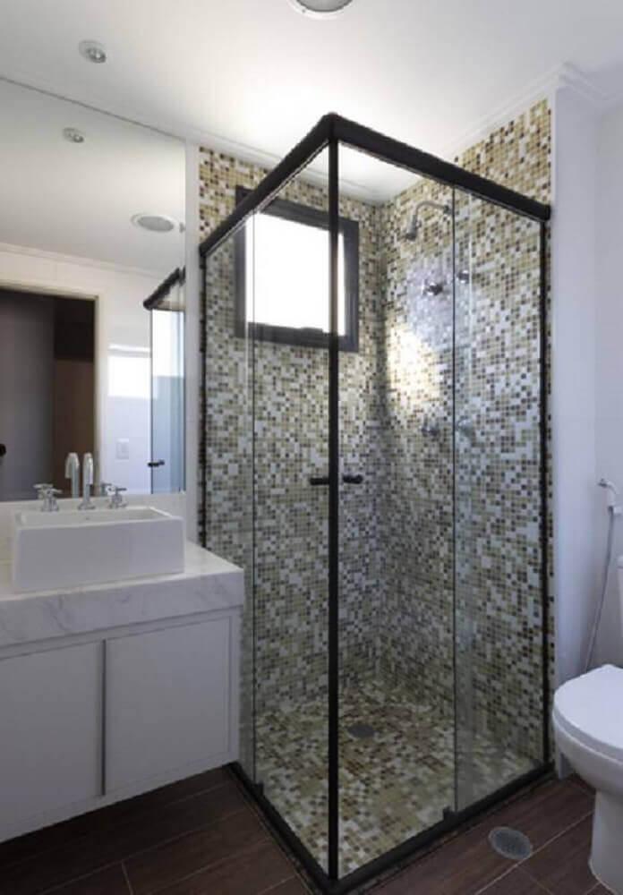 modelo de banheiro com pastilha