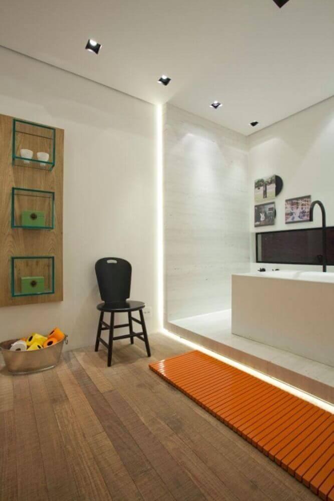 Modelos de nicho de vidro para banheiro