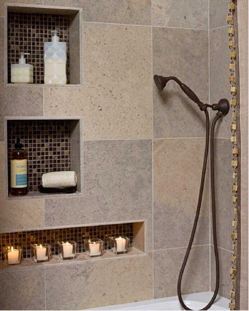 modelos de nichos para banheiro