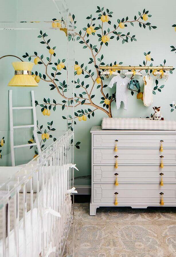 papel de parede para quarto de bebê Foto Pinterest