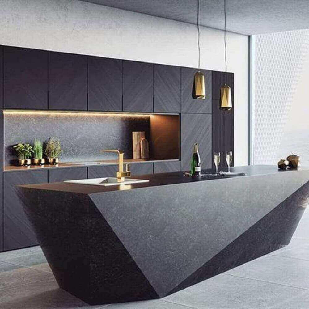 pendentes para cozinha sofisticada