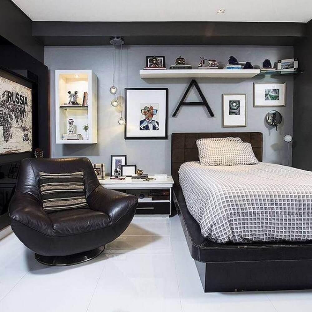 quadros para quarto masculino moderno