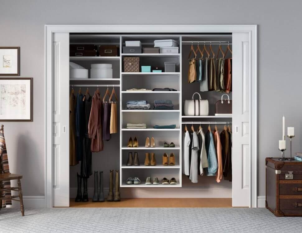 quarto com armário embutido planejado