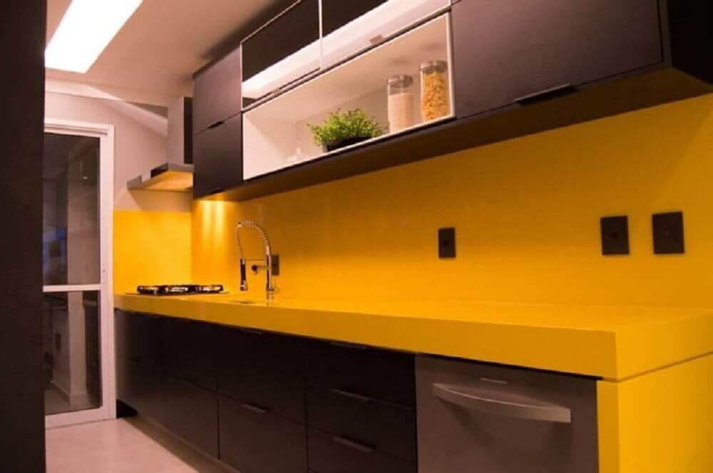silestone amarelo para bancada de cozinha