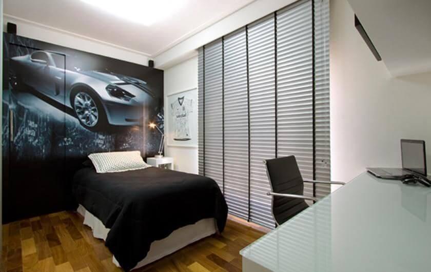 Adesivos de parede para quarto de carro Projeto de Idalia Daudt