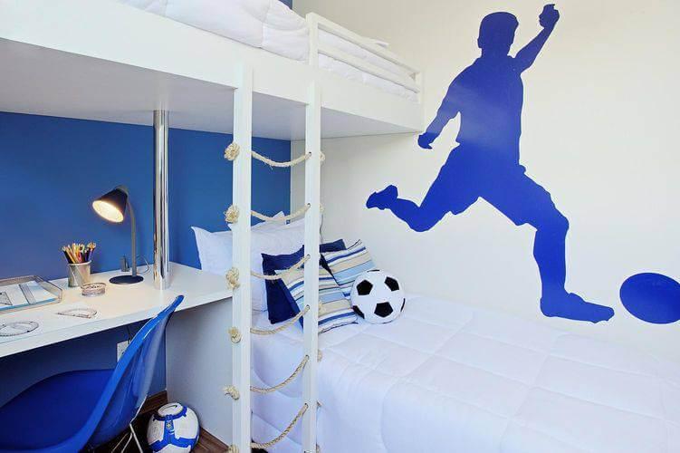 Adesivos de parede para quarto de futebol Projeto de Sesso Dalanezi