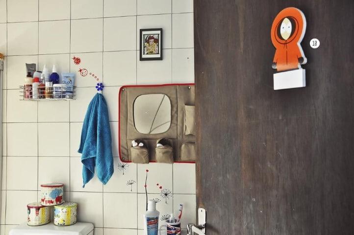 Azulejo para banheiro desenhados Projeto de Casa Aberta