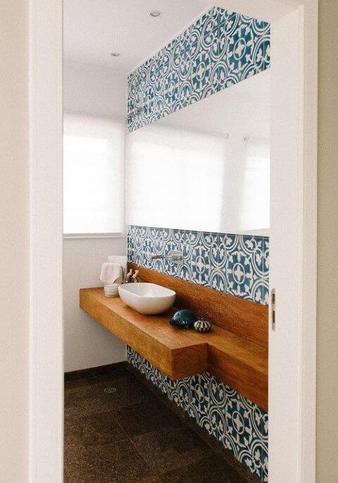 Azulejo para banheiro desenhados Projeto de Codecorar