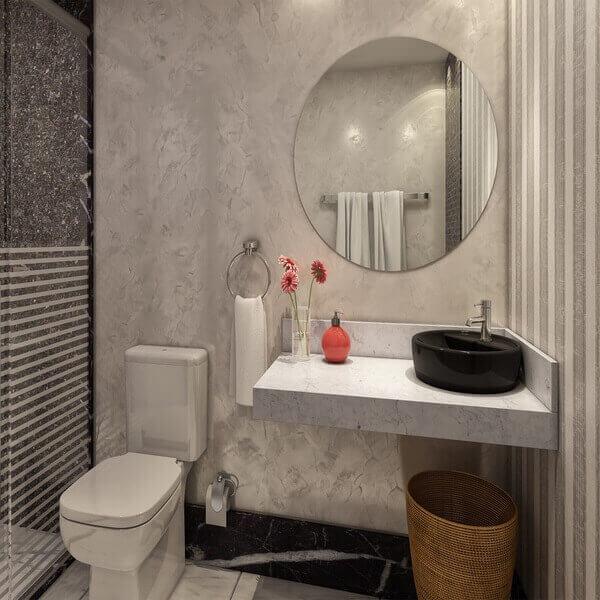 Bancada de banheiro mármore