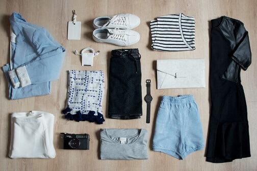 Como escolher as roupas do armário cápsula