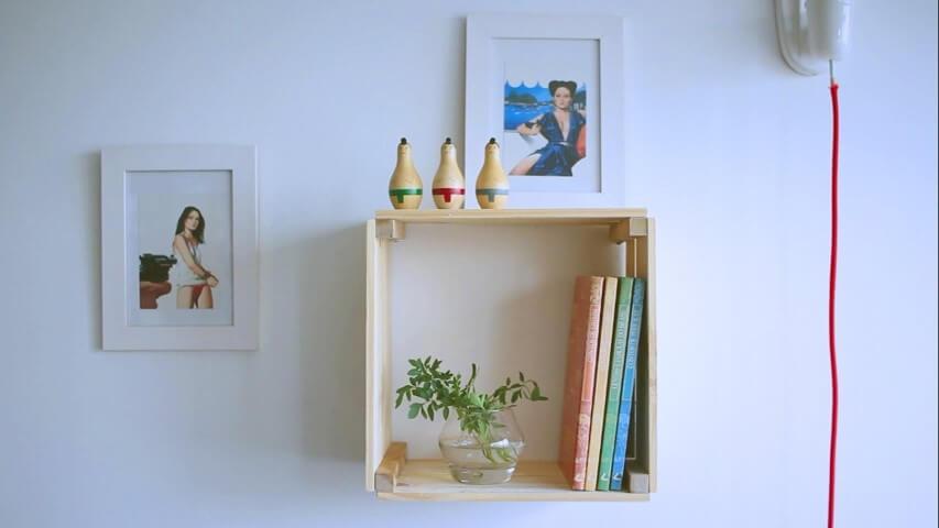 Como fazer nichos de madeira minimalista
