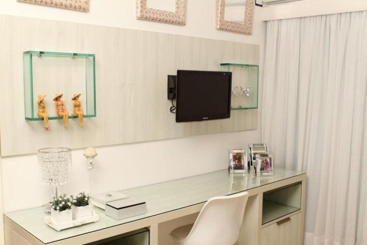 Como fazer nichos de vidro Projeto de Celia Beatriz