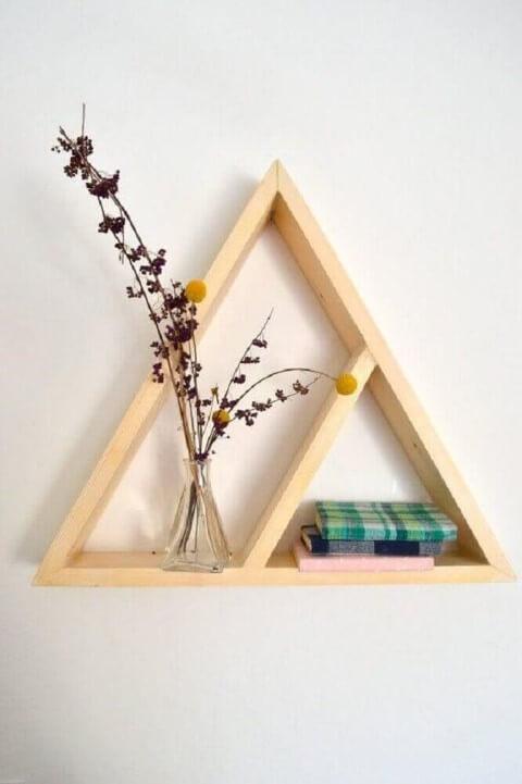 Como fazer nichos triangulares