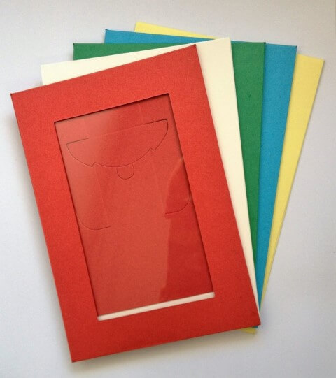 Como fazer porta-retrato colorido