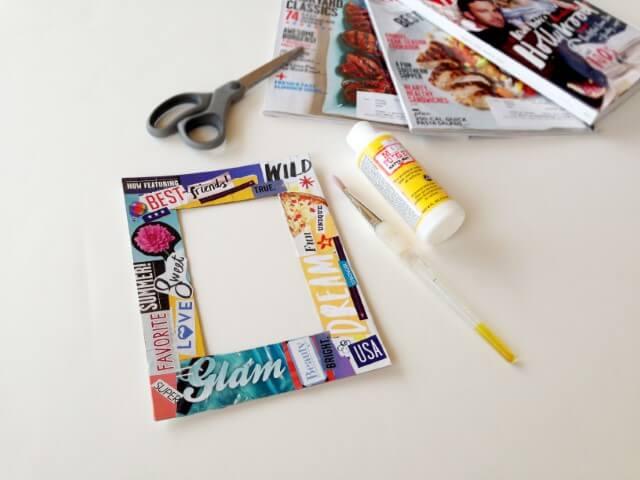 Como fazer porta-retrato materiais