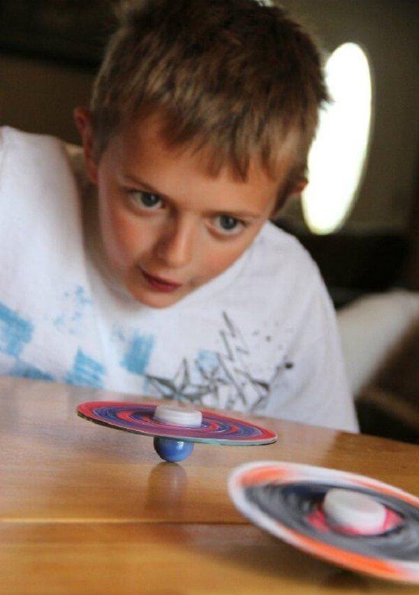 Crie brinquedos criativos por meio do artesanato com CD