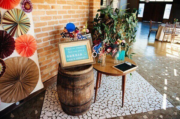Entrance Rustic Wedding Decoration