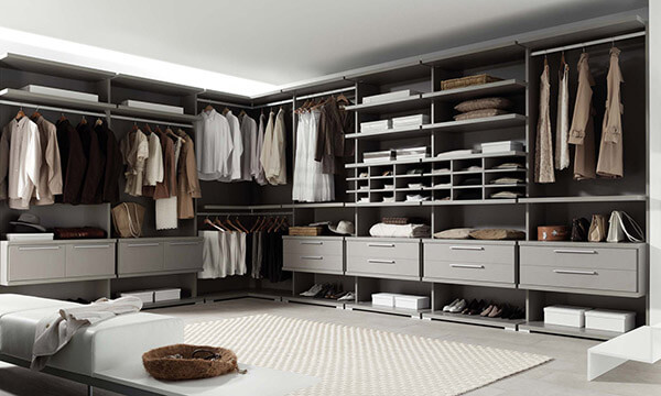 Guarda roupa modulado grande