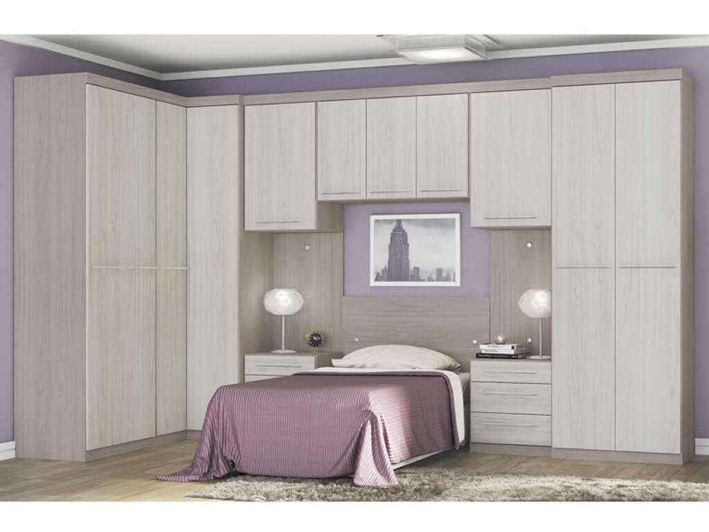 Guarda roupa modulado para quarto individual