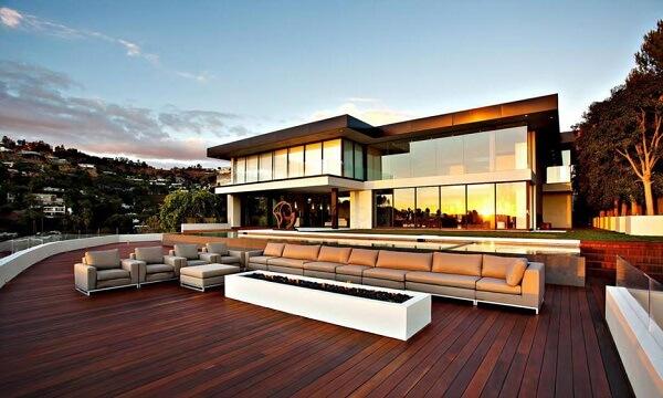 102 casa moderna hd fachadas con escaleras al frente