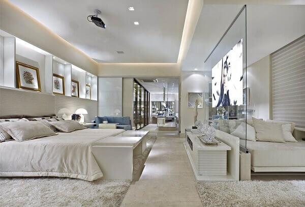 Mansão quarto de luxo