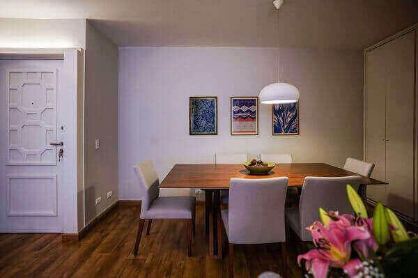Mesa para sala de jantar grande