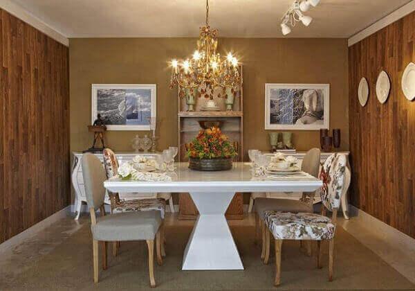Mesa para sala de jantar laca