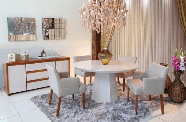 Mesa para sala de jantar moderna