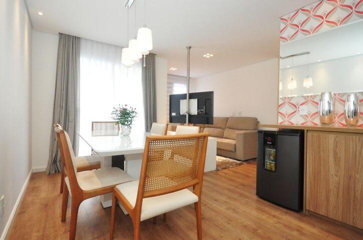 Pisos para sala de madeira Projeto de Condecorar