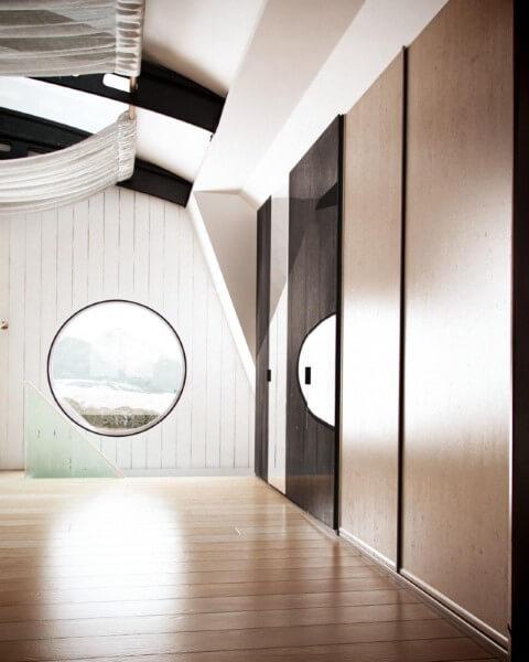 Pisos para sala de madeira Projeto de Thi Lima