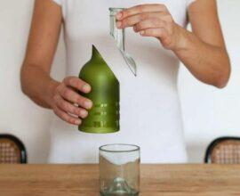 Saiba como cortar garrafa de vidro