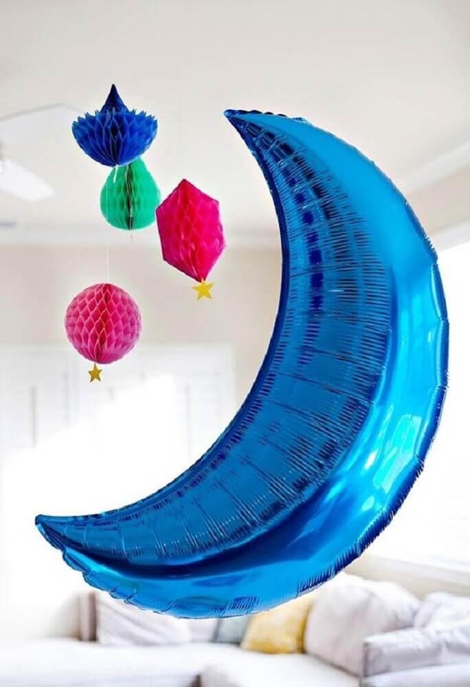 balões decorativos para festa do pijama