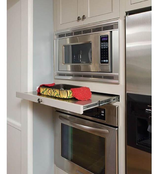 bancada de apoio para fornos