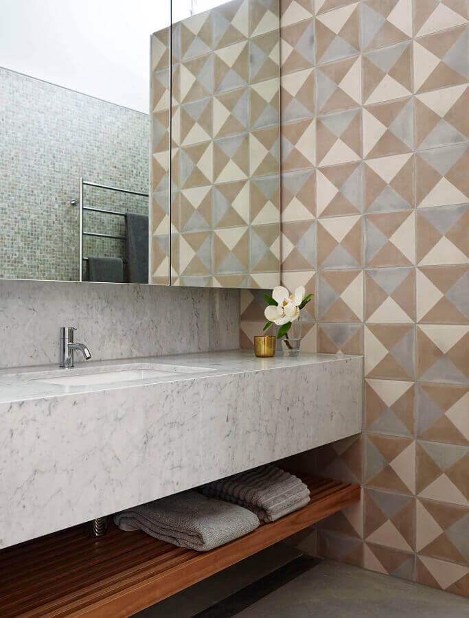 bancada de mármore para banheiro Foto Houzz