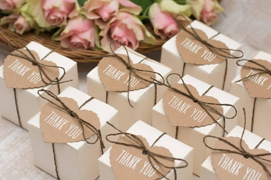 caixinhas decoradas para lembrancinhas de casamento