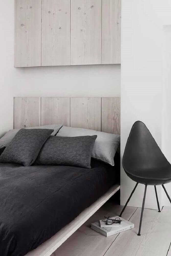 cama japonesa para quarto minimalista
